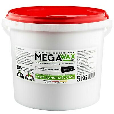 REIFENMONTAGEPASTE MONTAGEPASTE 5KG WEIß Stix Mega Wax made in Germany