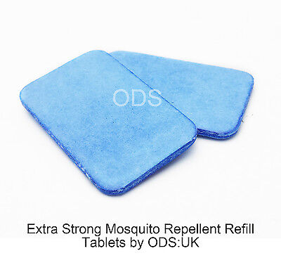 20 x Mosquito Insect Repellent Tablets Replacement Plug in Adaptor Mats