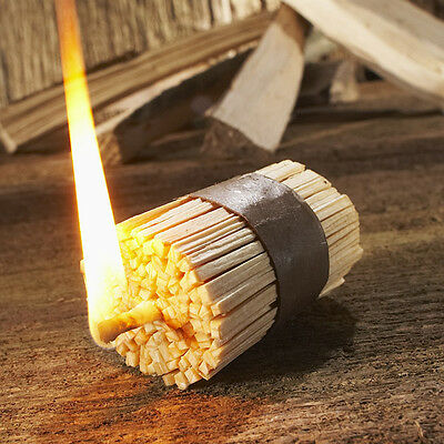 4x Fast Fire Setting Kindling Stove Grill Fireplace 20min Flame Wood and Wax