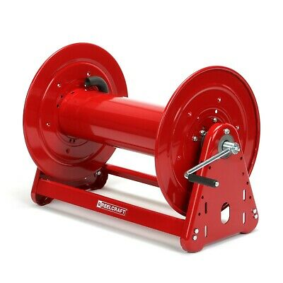 """REELCRAFT CB37118 L  Hand Crank Hose Reel 1"""" x 100ft. 300 psi. Without Hose"""