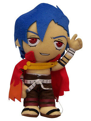"1x Authentic Brand New Gurren Lagann 8.5"" Kamina Great Eastern (GE-7093) Plush"