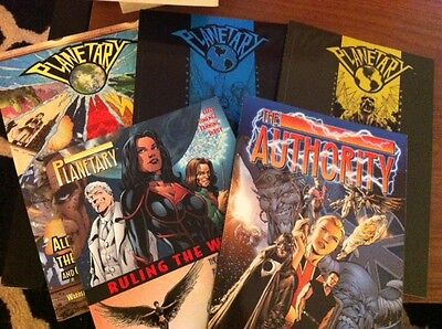 Planetary Vol 1, 2, 3 and The Authority bundle graphic novels TPB DC