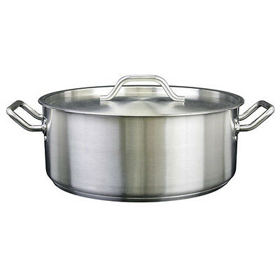 Thunder Group 30 QT 18/8 STAINLESS STEEL BRAZIER SLSBP030 Coock Pot NEW