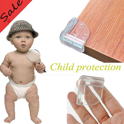 4ps Corner Protector  L-Shape Baby Child Safety Cushion Table Desk Edge Guard