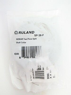 Ruland Nomar 2 Piece Split SP-38F Shaft Collar Steel Clamp
