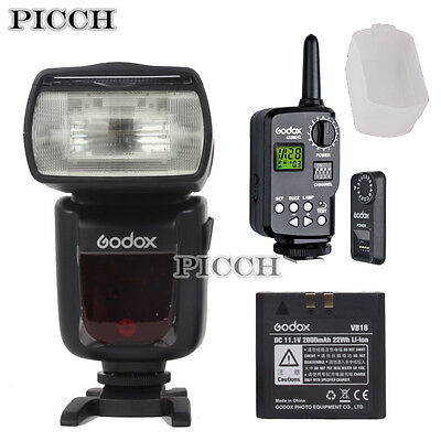 Godox VING V850 Manual Lithium-ion Flash with FT-16S Trigger + Diffuser Kit