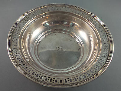 Tiffany & Co. Sterling Silver 6 3/8 Inch Reticulated Bowl