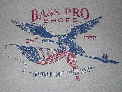 Bass Pro Shops Est.1972 Authentic Goods Field Tested Fishing T-Shirt Mens 3XL