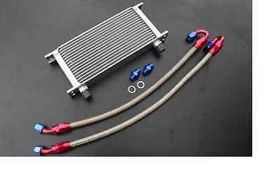 Suzuki Gsf 600 1200  Bandit New 17 Row Oil Cooler Kit & Braided Lines GSF1200