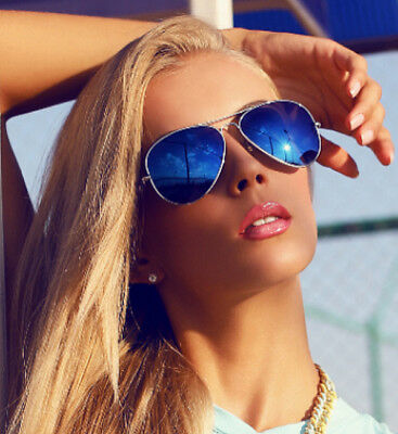 BETTER QUALITY GENUINE Aviator Mirror Sunglasses UV400 Retro Vintage SHIPS FREE