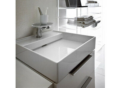 Kartell by Laufen countertop basins white on top sink 8.1533.1.000