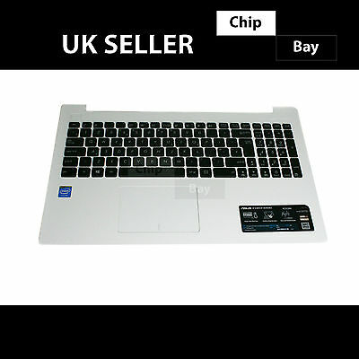 Genuine ASUS X553MA X553M X553 Palmrest Top Base Cover Keyboard White