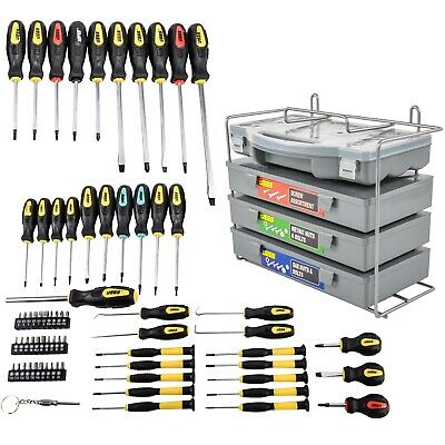 JEGS Performance Products 80755K 69-pc Screwdriver Set & 1200-pc Fastener Kit