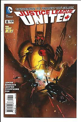 Justice League United # 8 (Mar 2015), Nm/m New