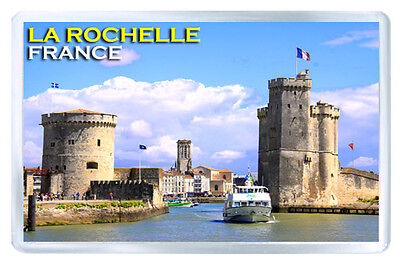 La Rochelle France Fridge Magnet Souvenir Iman Nevera