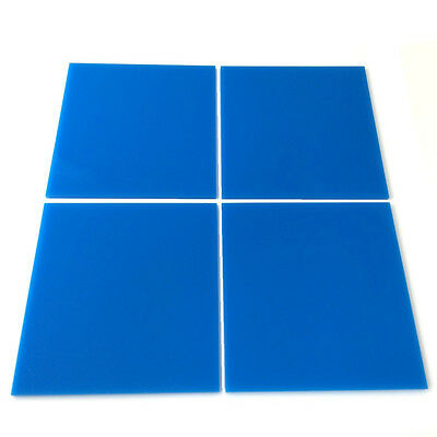 Bright Blue Square Mosaic Wall Tiles (Several Sizes Available)