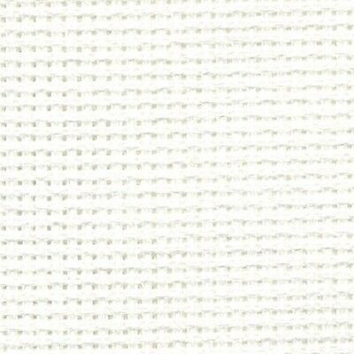 DMC 18 Count AIDA BLANC / WHITE Various Sizes 100% Cotton Cross Stitch Fabric