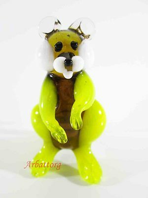 Blown Glass RUSSIAN MURANO. Figurine Handmade hamster #68
