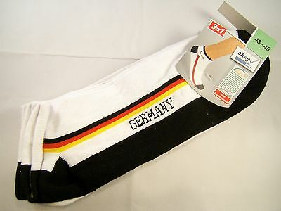 Germany Trachtensocks 3 Pair Fan- Socks Lederhosen Dirndl Oktoberfest Sz.10-12 ?