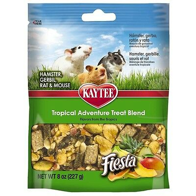 Kaytee Fiesta Awesome Tropical Advnture Small Animal 8oz Direct from Manufacture