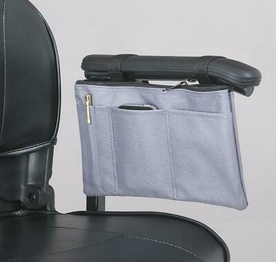 Mobility Scooter / Wheelchair armrest bag, New from Ducksback (Grey)