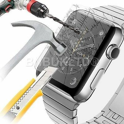 100% Genuine Premium Tempered Glass Screen Protector for Apple i Watch 42mm
