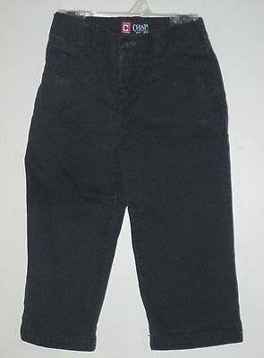 CHAPS Size 24 Months Boys Navy Blue Classic Chino Jeans