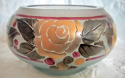 Daum Nancy Moda Acid Cut Bowl 1920s