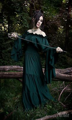IDD Renaissance Medieval Costume Mythic Forest Sword Mistress Chemise Dress