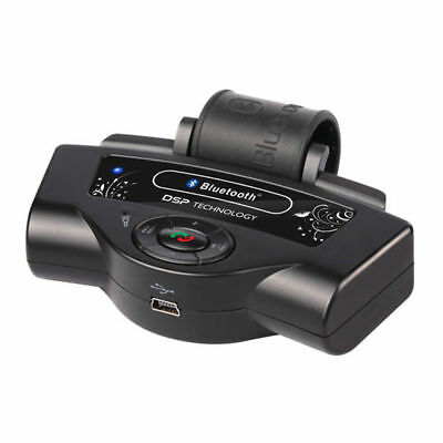 Bluetooth Wireless Car Kit Handsfree Driving Wheel Mount for iPhone/Android