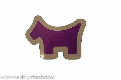 Cameron Scotty Dog 2014 PGA Championship release sticker Decal PURPLE RARE