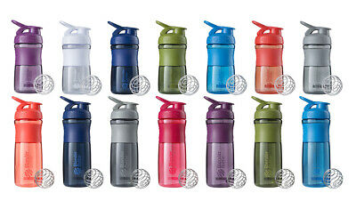 Blender Bottle SportMixer - protien shaker smart cup gym drink sport mixer shake