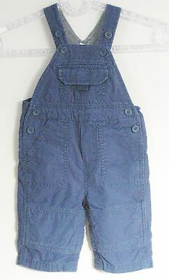 babyGAP Size 3-6 Months Boys Blue Five Pockets Overalls