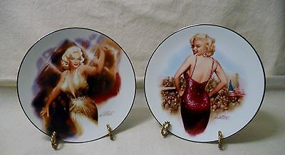 Marilyn Monroe-The Magic Of Marilyn- Rising Star- For Our Boys- Delphi Plates