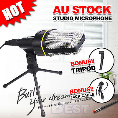 Professional Microphone Mic Studio Recording Chatting Cable Condenser Sound