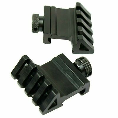 2 PCS 45 Degree Offset Rail Mount Quick Release for Picatinny / Weaver Rails