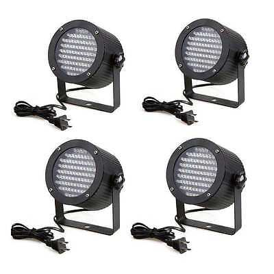 4Pcs 86 RGB LED Par Stage Light DMX CAN Wedding Strobe Party CONCESSIONAL SALE