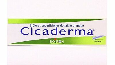 Boiron Cicaderma Homeopathic Skin Healing Ointment 30g tube - Worldwide shipping