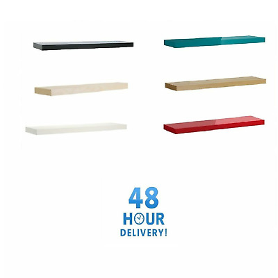 Floating Wall Shelf Chunky Various Sizes And Colours Ikea Lack