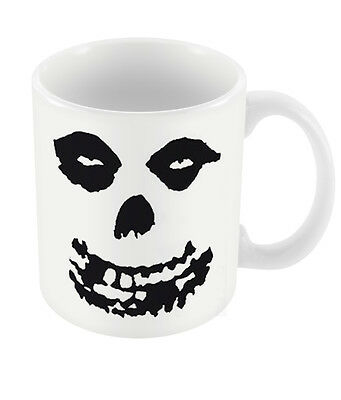 Official Misfits Skull Mug Half Dead Woman Skeleton Fiend Die Die My Darling