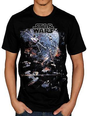 Official Star Wars Universe T-Shirt Darth Vader Storm Trooper Movie Merchandise