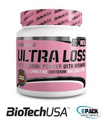 BioTech USA Diet Shake Ultra Loss 500g Meal Replacement Weight Loss