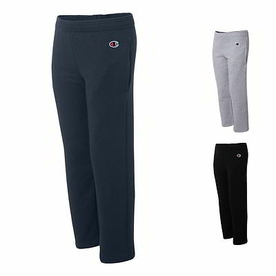 Champion Eco Youth Open Bottom Sweatpants with Pockets P890