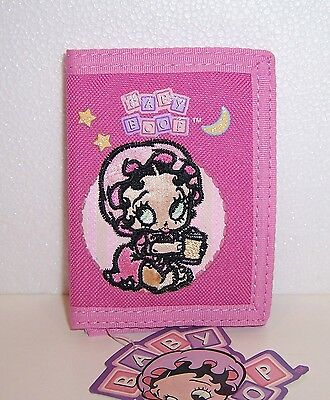 Licensed BABY BETTY BOOP Pink TRI-FOLD WALLLET Card Case Coin Purse NEW!!