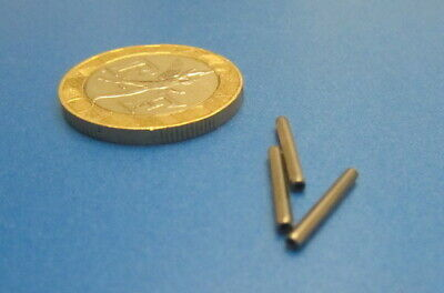 """420 Stainless Steel Coiled Spring Pin, 1/32"""" Dia x 1/2"""" Length, 50 pcs"""