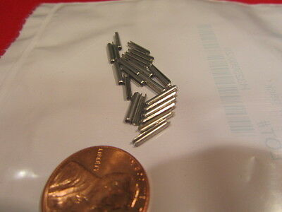 18-8 Stainless Steel Slotted Metric Spring Pin M1.5 Dia x 10mm Length, 200 pcs