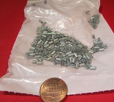 """Zinc Plate Steel Slotted Roll Spring Pin, 3/32"""" Dia x 3/16"""" Length,  250 pcs"""