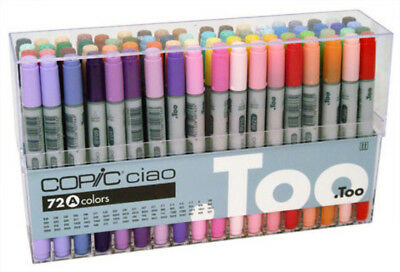 Copic Ciao Colour Marker Pen Set 72A