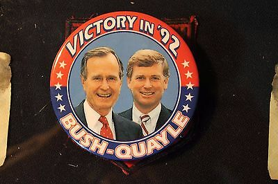 George  H  Bush Campaign Buttons Oldest Living President