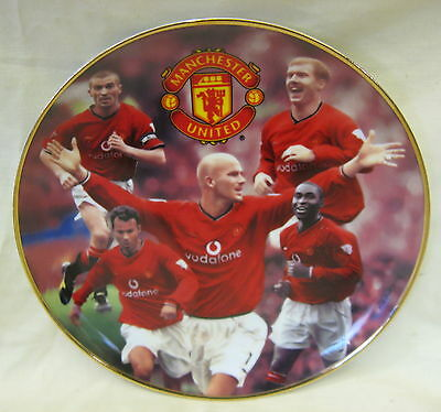 NEW Danbury Mint Manchester United Premiership Kings Porcelain Collectors Plate
